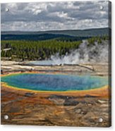 Above Grand Prismatic Acrylic Print
