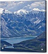 Above Lake Minnewanka #2 Acrylic Print