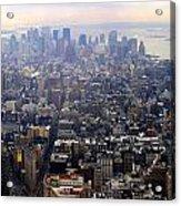 Above New York Acrylic Print