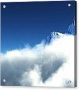 Above The Clouds... Acrylic Print