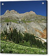 Above The Fruited Plains Acrylic Print