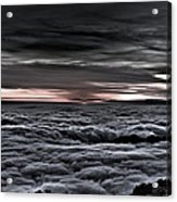 Above The Marine Layer V2 Acrylic Print