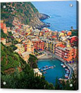 Above Vernazza Acrylic Print by Inge Johnsson