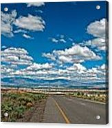 Abq From 9 Mile Hill Acrylic Print