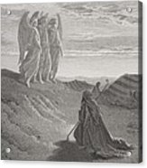 Abraham And The Three Angels Acrylic Print