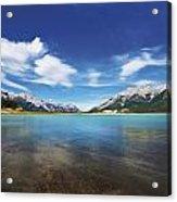 Abraham Lake Alberta Canada Acrylic Print