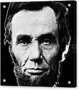 Abraham Lincoln 1 Alexander Gardner Photo Washington D.c. C. 1864 Acrylic Print