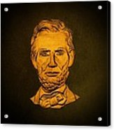 Abraham Lincoln  Acrylic Print by David Dehner