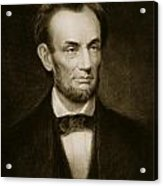 Abraham Lincoln Acrylic Print by Francis Bicknell Carpenter