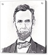 Abraham Lincoln Acrylic Print by Lou Knapp