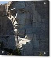 Abraham Lincoln Mount Rushmore National Monument Acrylic Print