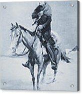 Abraham Lincoln Riding His Judicial Circuit Acrylic Print