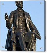 Abraham Lincoln Statue Philadelphia Acrylic Print