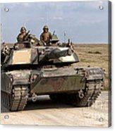 Abrams M1a1 Main Battle Tank Acrylic Print