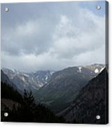 Absaroka Mountains Acrylic Print