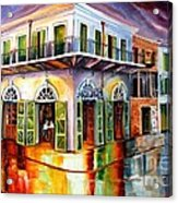 Absinthe House New Orleans Acrylic Print by Diane Millsap