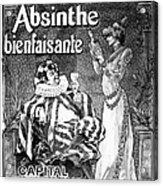 Absinthe Poster, 1892 Acrylic Print