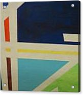 Abstracat Exhibit Acrylic Print