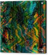 Abstract - Emotion - Apprehension Acrylic Print