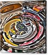 Abstract - Vehicle Recycling Acrylic Print