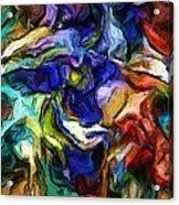 Abstract 082713b Acrylic Print