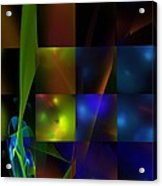 Abstract 101413 Acrylic Print