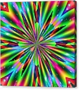 Abstract 158 Acrylic Print