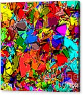 Astratto - Abstract 50 Acrylic Print