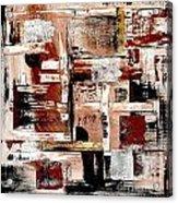 Abstract 524-11-13 Marucii Acrylic Print