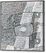 Abstract 880 Acrylic Print