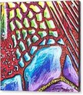 Abstract Animal Print Acrylic Print