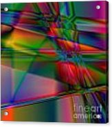 Lineage - Square Abstract Print Acrylic Print