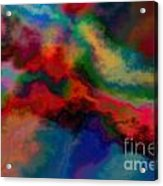Intrigued - Abstract Art  Acrylic Print