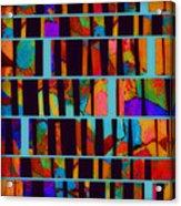 abstract - art- Color Pop  Acrylic Print
