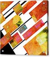 abstract art Homage to Mondrian Acrylic Print