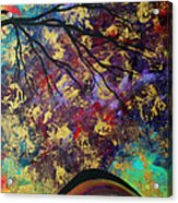 Abstract Art Original Landscape Painting Go Forth IIi By Madart Studios Acrylic Print