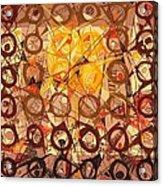 Abstract Art Sixty-six Acrylic Print