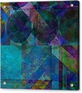 abstract - art - Stripes Five  Acrylic Print