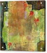 Abstract Art Where The Love Is Acrylic Print