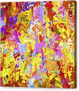 Abstract Series B6 Acrylic Print