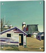 Abstract Barn Acrylic Print