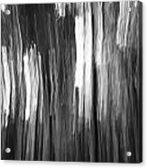 Abstract Black And White Composition Acrylic Print