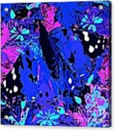 Abstract Butterfly #2 Acrylic Print