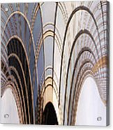Abstract Chicago Sunrays On Trump Tower Acrylic Print