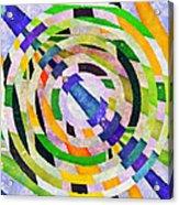 Abstract Circles Acrylic Print