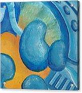 Abstract Color Study Acrylic Print