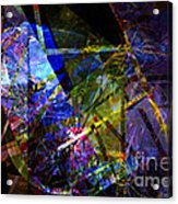 Abstract Composite 1 Acrylic Print
