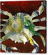 Abstract Crab Acrylic Print