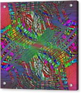 Abstract Cubed 194 Acrylic Print
