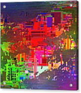 Abstract Cubed 2 Acrylic Print